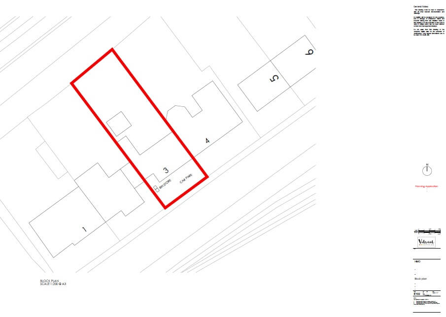 HMO Planning Drawing