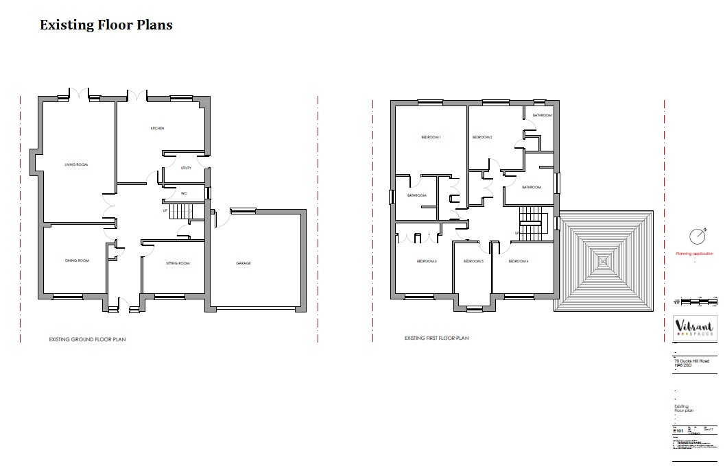 Planning Application Drawing